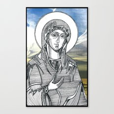 Madonna of the Skies Canvas Print