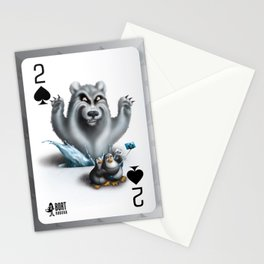 Two of Spades / No selfies! Stationery Cards