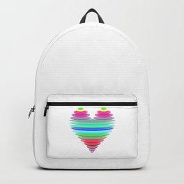 Glass heart Backpack
