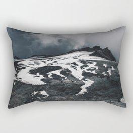 Expanse of Mount Ruapehu Rectangular Pillow