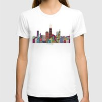 chicago T-shirts featuring Chicago  by bri.buckley