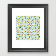 Banana Power Framed Art Print