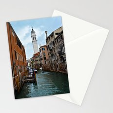 Travel Venice Italy water- ocean - landscape - boat - vintage - photography Stationery Cards