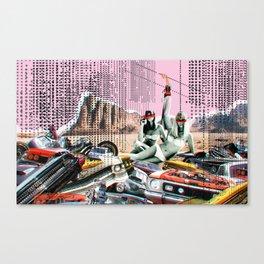 3 Sirens · Dead in Love Canvas Print