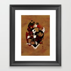 Goloseando Framed Art Print