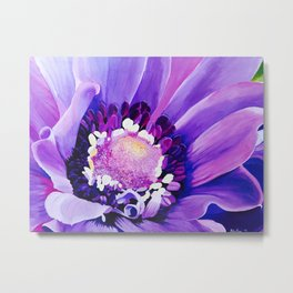 "Rita Ricci ""Flowers"" by ApplausoUS Metal Print"