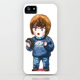 Liam Gallagher with his Tambourine iPhone Case
