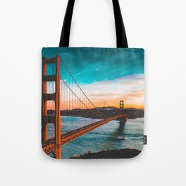 ADVENTURE San Francisco Tote Bag