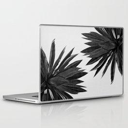 Agave Cactus Black & White Laptop & iPad Skin