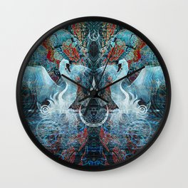 The Song of Swans Wall Clock