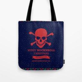 Rock and Roll Christmas Tote Bag