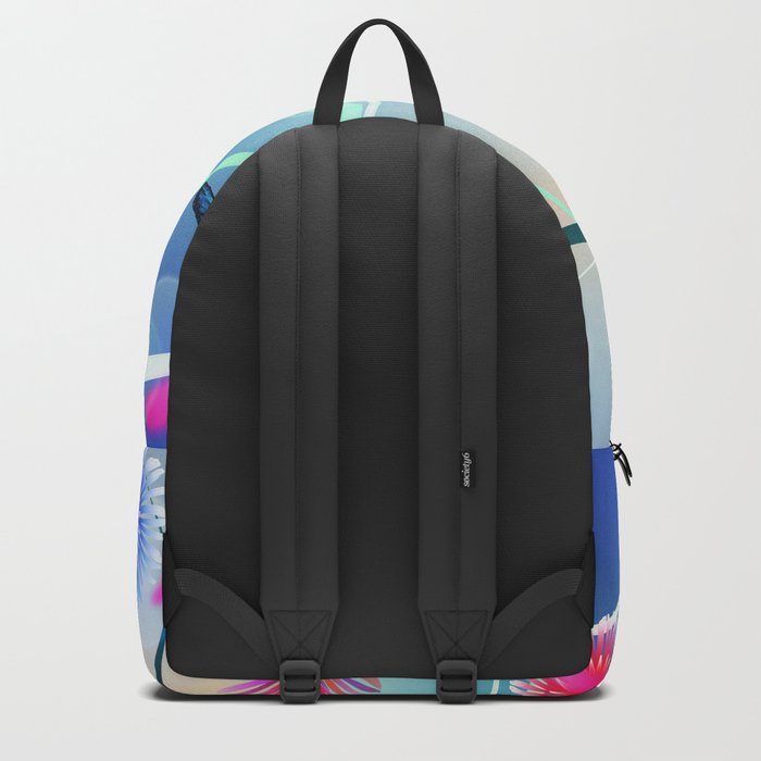 Dahlias and Vines Backpack
