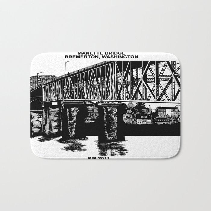 Manette Bridge Bath Mat
