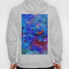 Abstract Seascape Painting Hoody