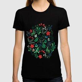 Merry Christmas pattern T-shirt