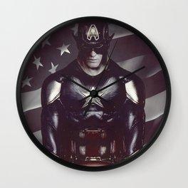 The American Superhero Wall Clock