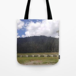 Lassen Mountains Tote Bag