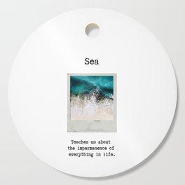 Small Emotional Dictionary: Sea Cutting Board