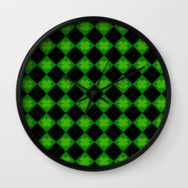 🍀 luck 🍀 Wall Clock