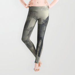 Like a Horse in the woods Leggings
