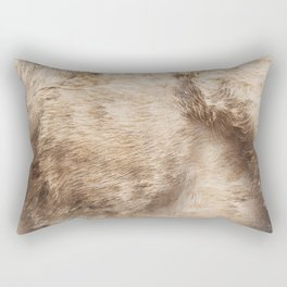 Cows fur Rectangular Pillow