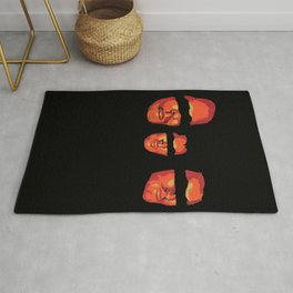 Once upon a time there was three friends Rug