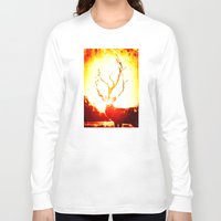 stag Long Sleeve T-shirts featuring STAG by Chrisb Marquez
