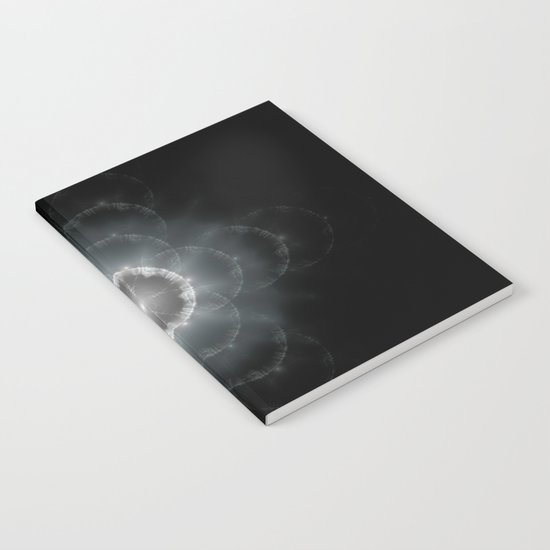 Space Flower Fractal Notebook