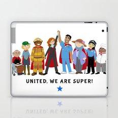 United, We Are Super! Laptop & iPad Skin