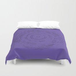 Violet Rainbow Duvet Cover