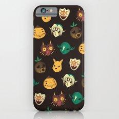 pattern of masks.  iPhone 6 Slim Case