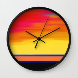Abstract No 249 By Chad Paschke Wall Clock