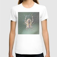 spider T-shirts featuring Spider by Dora Birgis
