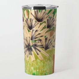 Chartreuse Vase drawing by Amanda Laurel Atkins Travel Mug