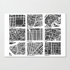 Architecture Urbanism  Canvas Print