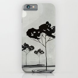 Watercolor Trees 17 iPhone Case