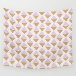 Lavender Ice Cream Wall Tapestry