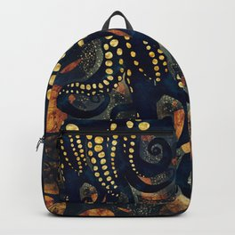 Metallic Ocean Backpack