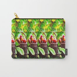 Fruit Basket Stereogram Carry-All Pouch
