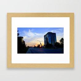 Laval at Dawn Framed Art Print