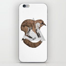 The Fox Who Lost His Tail iPhone Skin