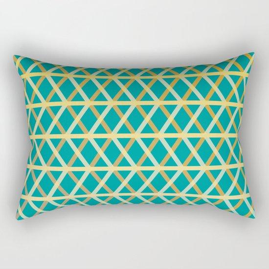 Overlap #6 reverse Rectangular Pillow