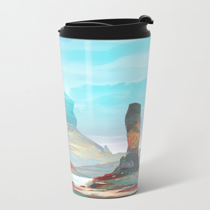 On another planet 2 Metal Travel Mug