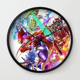 Megaman Element Wall Clock