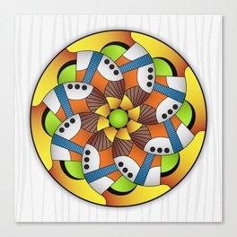 Mandala Horn Canvas Print