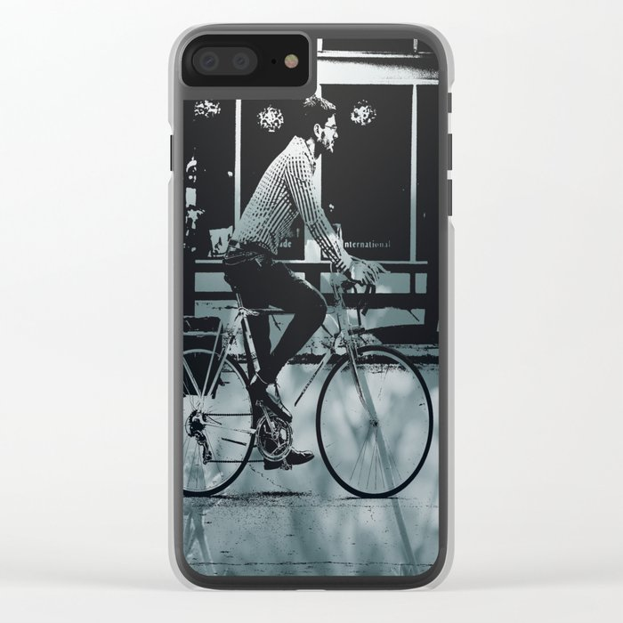 City 3 Clear iPhone Case