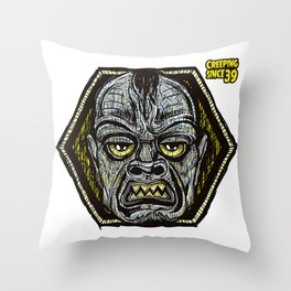 creeping since 39 Throw Pillow