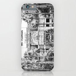 Ben Hill Griffin Stadium (North Facade) iPhone Case