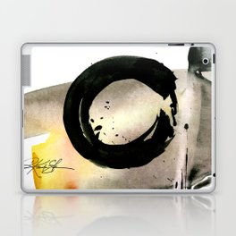 Enso Abstraction No. 105 by Kathy morton Stanion Laptop & iPad Skin