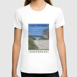 Travel Poster One Mile, NSW T-shirt